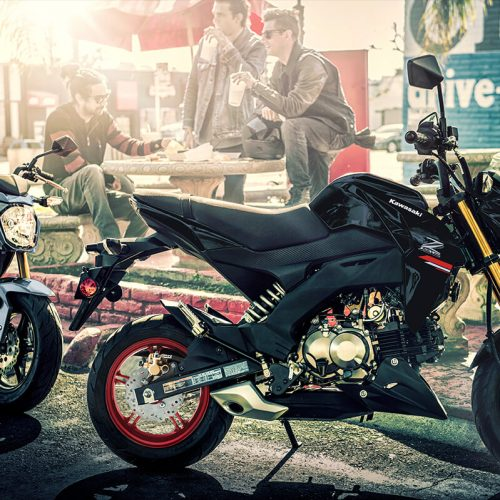 2021 Kawasaki Z125 PRO Gallery Image 1