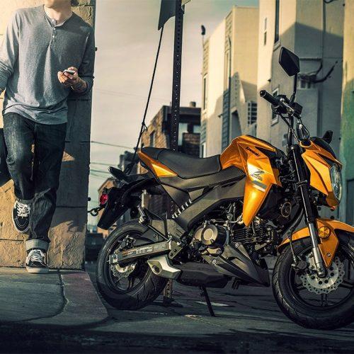 2019 Kawasaki Z125 PRO Gallery Image 4