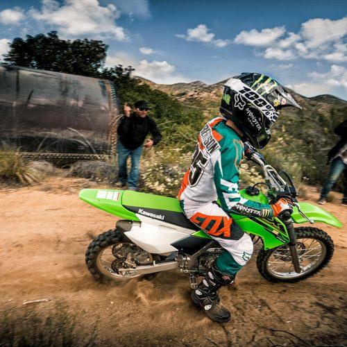 2021 Kawasaki KLX 140R Gallery Image 3