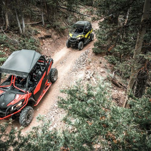 2021 Can-Am Maverick Trail DPS Gallery Image 4