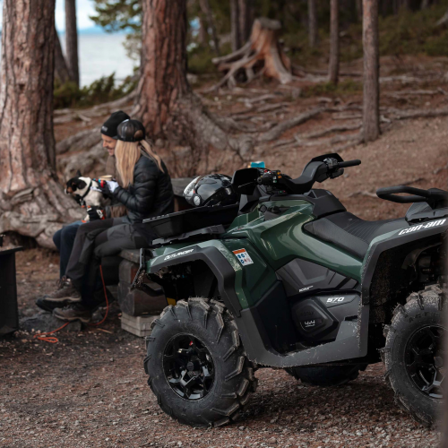 2021 Can-Am Outlander Max 6X6 DPS 450 Gallery Image 4