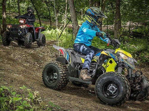 2021 Polaris Outlaw 110 EFI Gallery Image 1