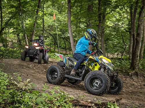2021 Polaris Outlaw 110 EFI Gallery Image 2