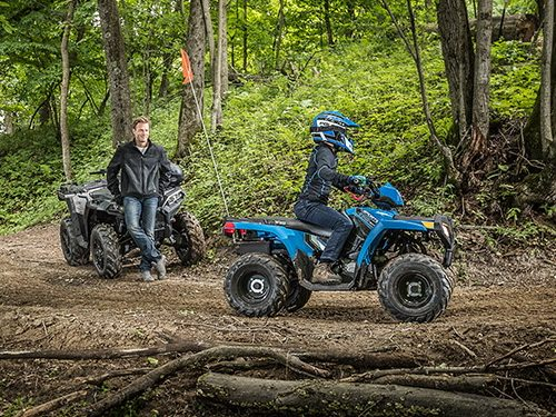 2021 Polaris Sportsman 110 EFI Gallery Image 2