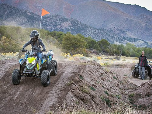 2021 Polaris Outlaw 110 EFI Gallery Image 3