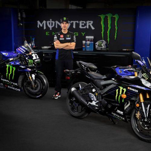2021 Yamaha YZF-R3 Monster Energy Yamaha MotoGP Edition Gallery Image 4