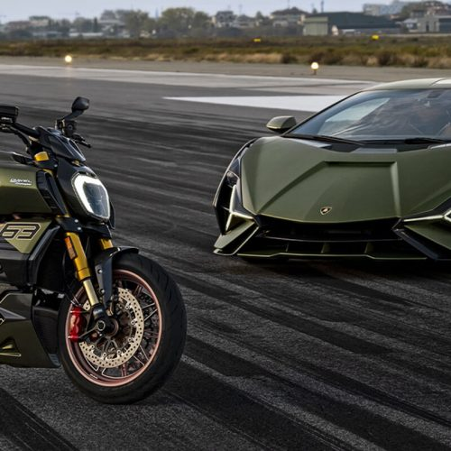 2021 Ducati Diavel 1260 Lamborghini Gallery Image 1