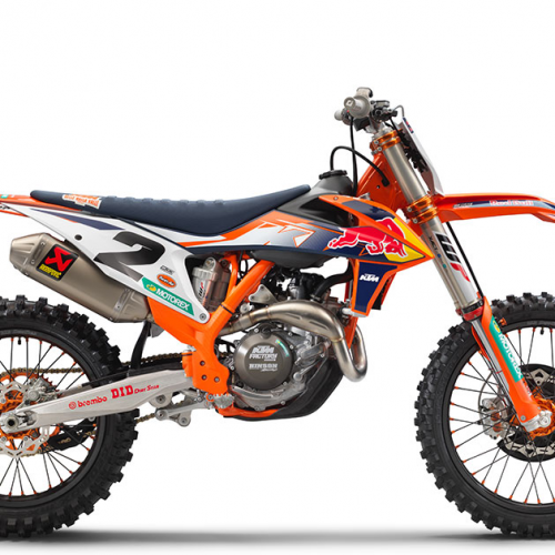 2021 KTM 450 SX-F Factory Edition Gallery Image 4