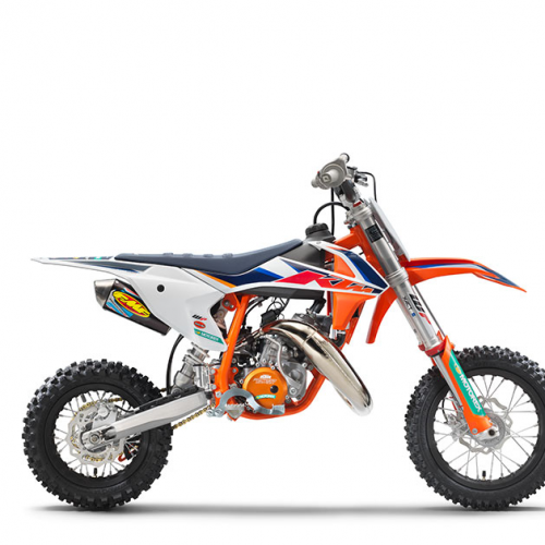 2021 KTM 50 SX Factory Edition Gallery Image 2