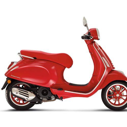 2021 Vespa PRIMAVERA 150 RED Gallery Image 3