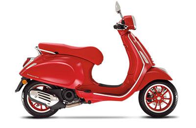 2021 Vespa PRIMAVERA 50 RED